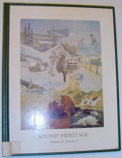 Image for Sound Heritage - Volume III, Number 1 (British Columbia Aural History)