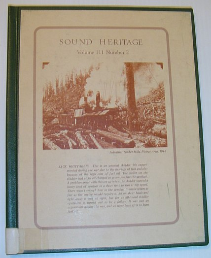 Image for Sound Heritage - Volume III, Number 2 (British Columbia Aural History)