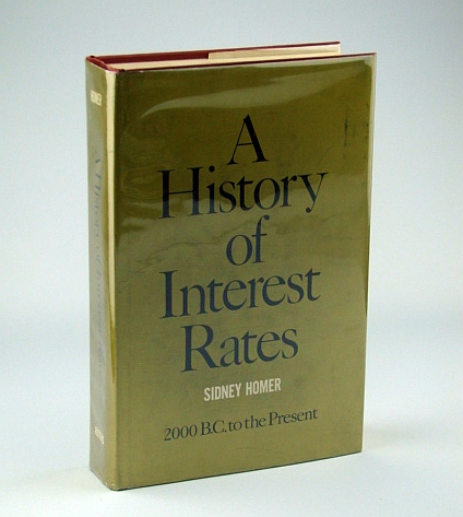 Image for A History of Interest Rates