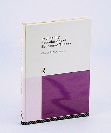 Image for Probability Foundations of Economic Theory
