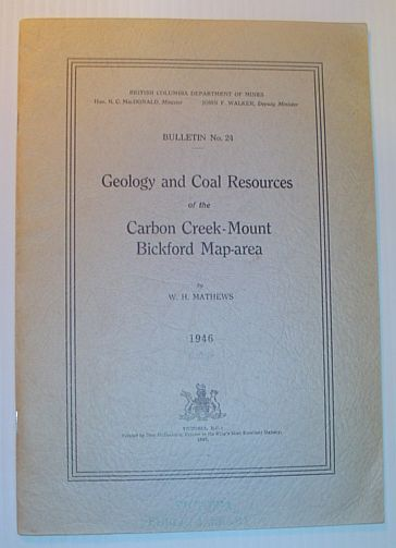 Image for Geology and Coal Resources of the Carbon Creek-Mount Bickford Map-area: Bulletin No. 24