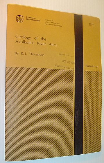Image for Geology of the Akolkolex River area (Bulletin)
