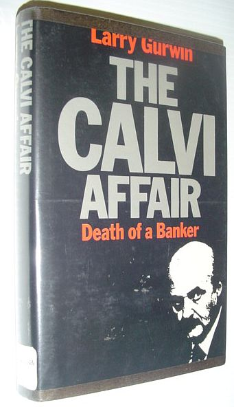 Image for The Calvi Affair: Death of a Banker