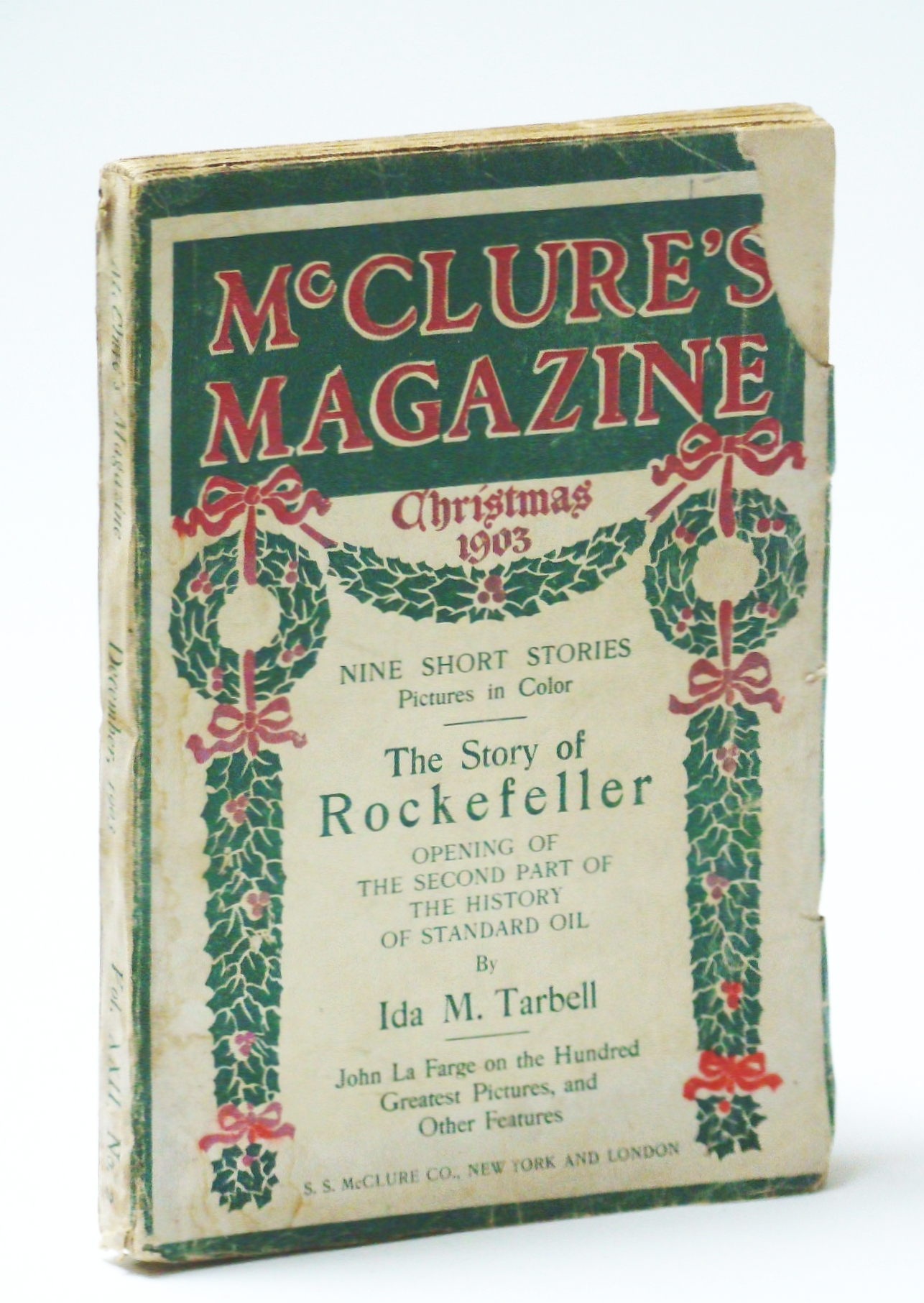 Image for McClure's Magazine, December (Dec.) 1903, Vol. XXII, No. 2 - The History of the Standard Oil Company - The War on the Rebate