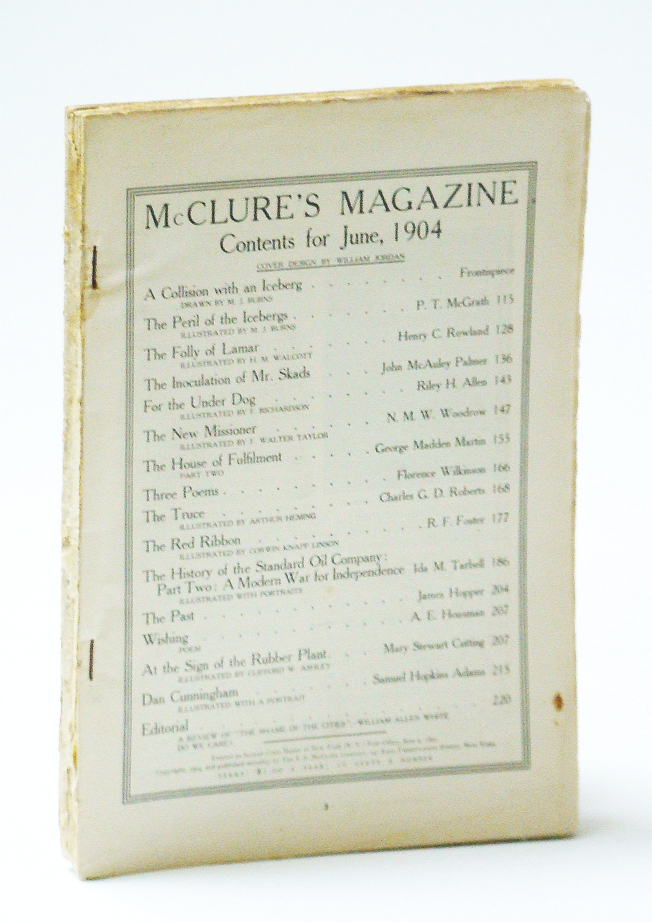 Image for McClure's Magazine, June 1904, Vol. XXIII, No. 2: The History of the Standard Oil Company - A Modern War For Independence