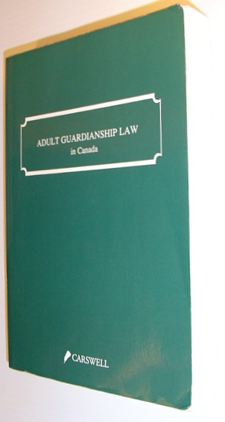 Image for Adult guardianship law in Canada