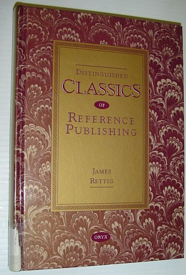 Image for Distinguished Classics of Reference Publishing