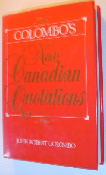 Image for Colombo's New Canadian Quotations
