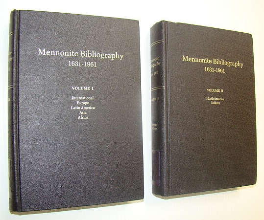Image for Mennonite Bibliography, 1631-1961