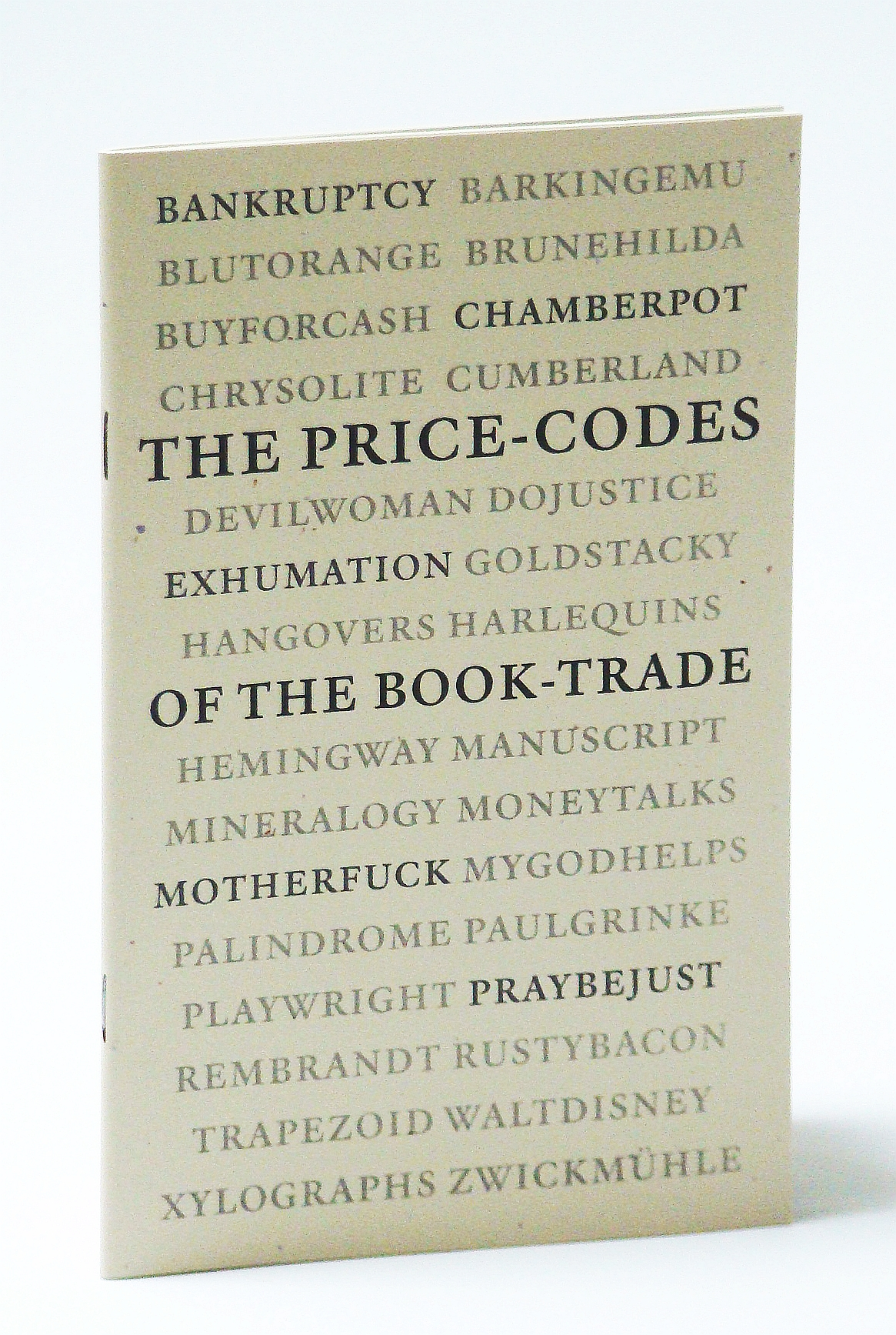 Image for The Price-Codes of the Book-Trade: A Preliminary Guide