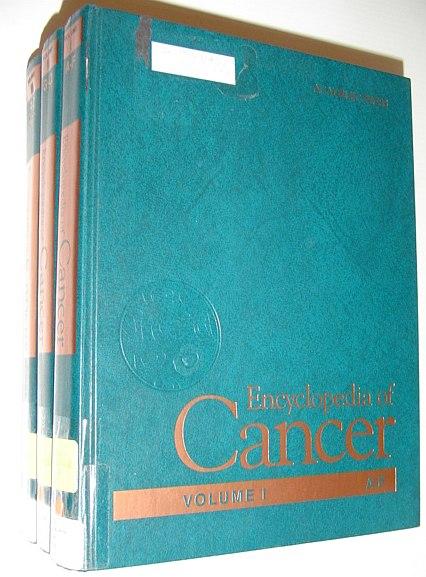 Image for Encyclopedia of Cancer, Three-Volume Set, Volume 1-3