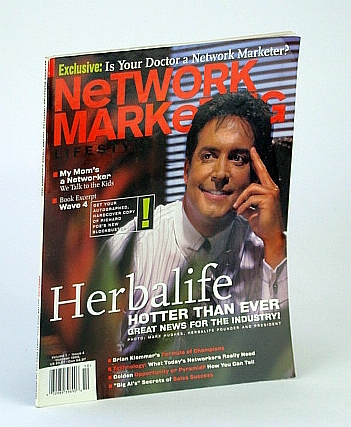 Image for Network Marketing Lifestyles, October (Oct.) 1999 - Cover Photo of Herbalife Founder Mark Hughes