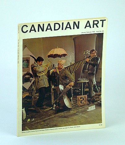 Image for Canadian Art Magazine #95, January / February (Jan. / Feb.) 1965 - Duncan Macpherson / Jacques De Tonnancour