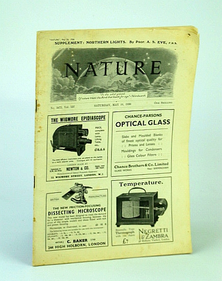 Image for Nature Magazine, No. 3472, Vol. 137, Saturday, May 16, 1936 - Nazi-Socialism and International Science