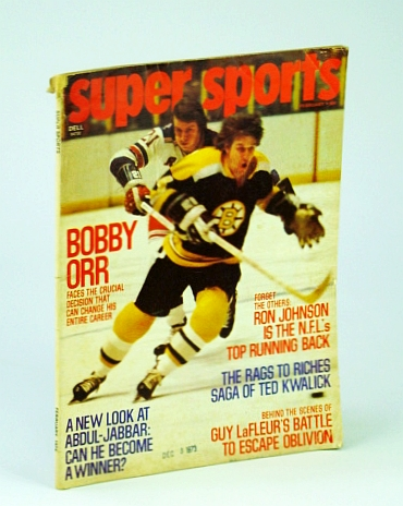 Image for Super Sports (SuperSports) Magazine, February (Feb.), 1974 - Bobby Orr Cover Photo