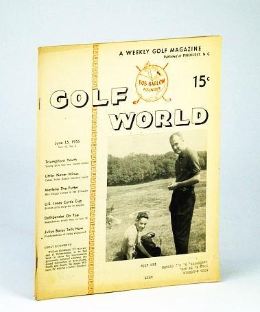 Image for Golf World - A Weekly Golf Magazine, June 15, 1956, Vol. 10, No. 2 - Cover Photo of William Hyndman, III and IV
