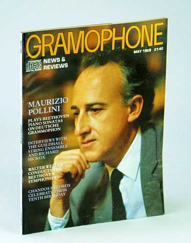 Image for Gramophone Magazine, May 1989 - Maurizio Pollino Cover Photo