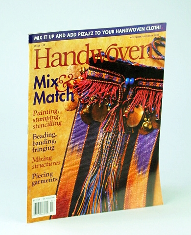 Image for Handwoven (Hand Woven) Magazine, November (Nov.) / December (Dec.) 2000 - Mix & Match