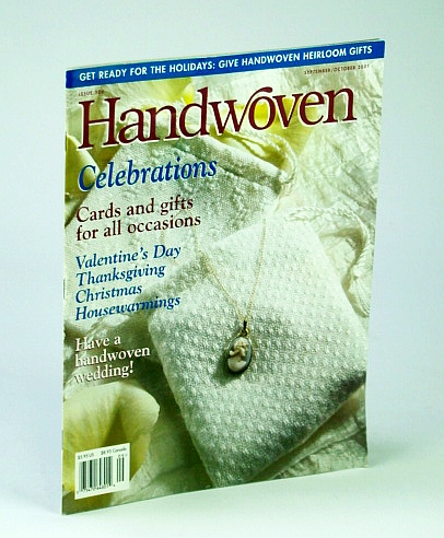 Image for Handwoven (Hand Woven) Magazine, September (Sept.) / October (Oct.) 2001 - Have a Handwoven Wedding!