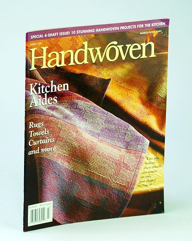 Image for Handwoven (Hand Woven) Magazine, March (Mar.) / April (Apr.) 2002 - Peter Collingwood / Special 4-Shaft Issue