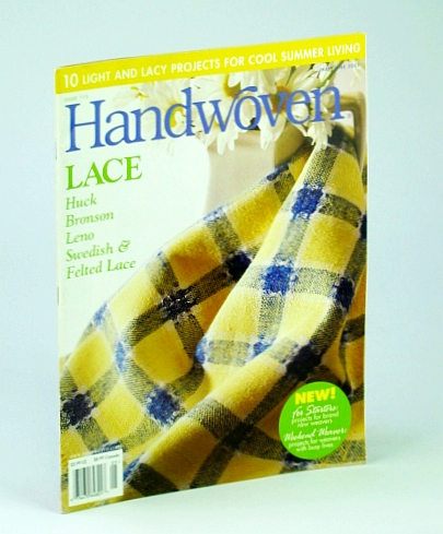 Image for Handwoven (Hand Woven) Magazine, May / June 2003 - 10 Light and Lacy Projects