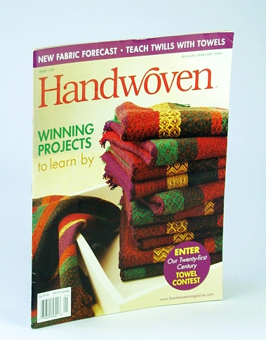 Image for Handwoven (Hand Woven) Magazine, January (Jan.) / February (Feb.) 2006 - Teach Twills with Towels