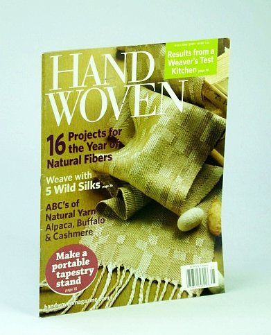 Image for Handwoven (Hand Woven) Magazine, May / June 2009 - ABC's of Natural Yarn