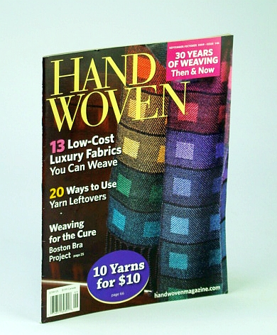 Image for Handwoven (Hand Woven) Magazine, September (Sept.) / October (Oct.) 2009 - Boston Bra Project