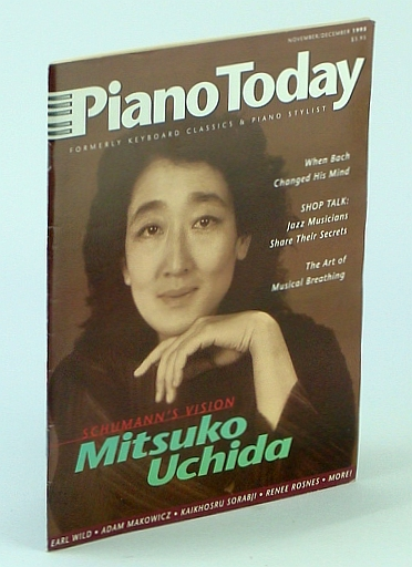Image for Piano Today (November / December 1995