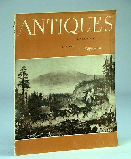 Image for Antiques, Vol. LXV, No. 1, January 1954