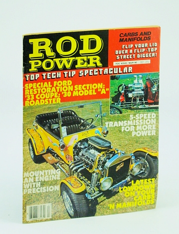 Image for Rod Power Magazine, March (Mar.) 1980  - Special Ford Restoration Section