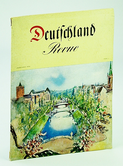 Image for Deutschland Revue (Journal/Magazine of the German Center For Tourism) Jahrgang 1954, Heft 1