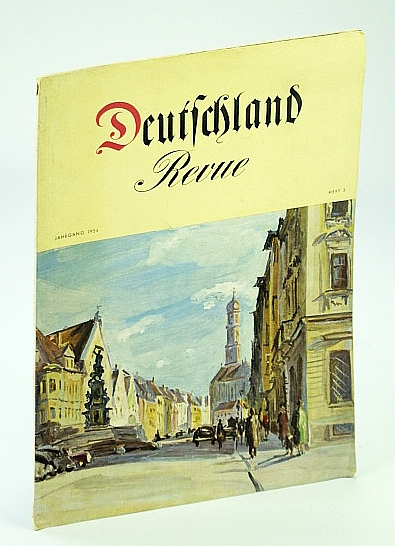 Image for Deutschland Revue (Journal/Magazine of the German Center For Tourism) Jahrgang 1954, Heft 3