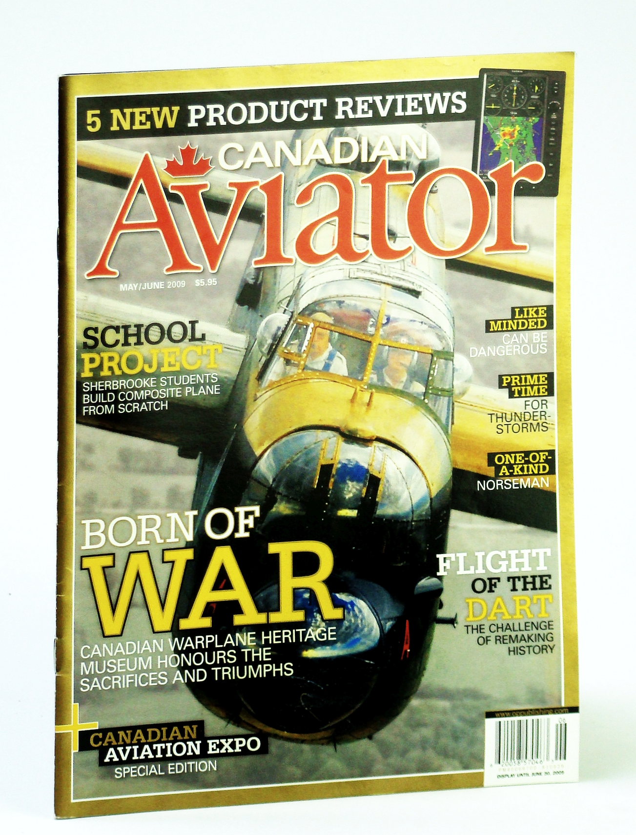Image for Canadian Aviator Magazine, May / June 2009 - Sherbrooke Students Build Composite Plane from Scratch