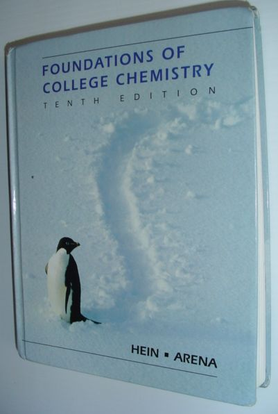 Image for Foundations of College Chemistry