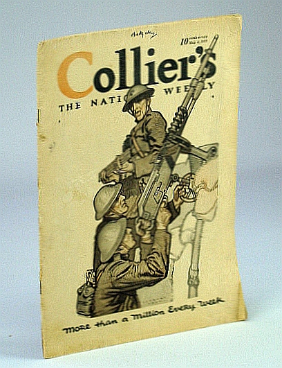 Image for Collier's - The National Weekly Magazine, May 4, 1918, Volume 61, Number 8 - Adventures With the Crumbling Russian Army
