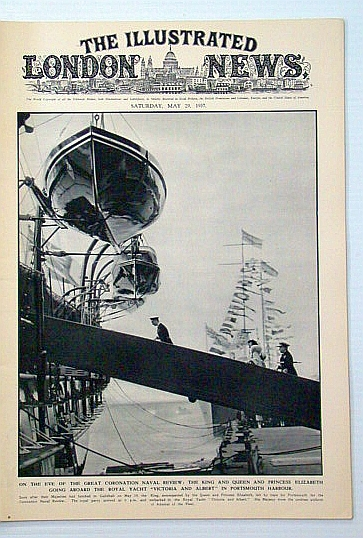 Image for The Illustrated London News, May 29, 1945: Coronation Naval Review