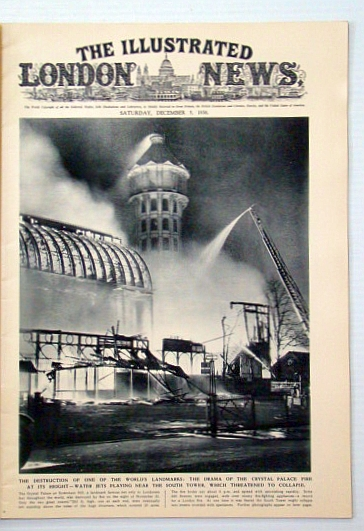 Image for The Illustrated London News, December (Dec.) 5, 1936: Tragic End of the Crystal Palace / Assault on the Nanda Devi