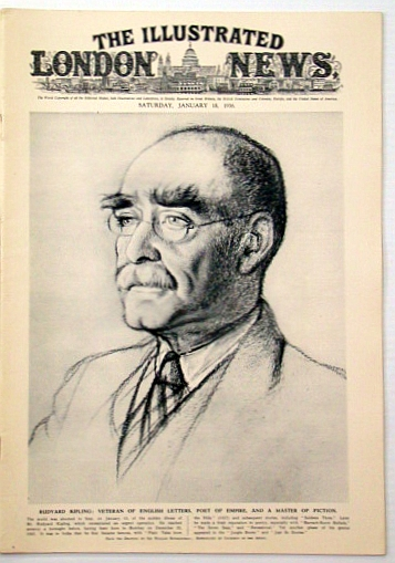 Image for The Illustrated London News, January (Jan.) 18, 1936: Passing of Rudyard Kipling