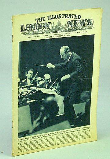 Image for The Illustrated London News, December (Dec.) 15, 1934: Berlin Conductor Dr. Wilhelm Furtwangler Forced to Resign By Nazis