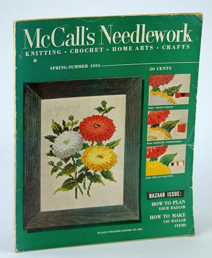 Image for McCall's Needlework. Spring-Summer 1954, Bazaar Issue