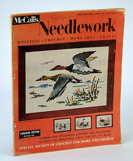 Image for McCalls Needlework Fall-Winter 1954-55