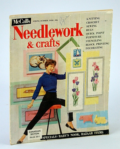 Image for Mccall's Needlework & Crafts: Spring-Summer 1958 & Fall-Winter 1958-59