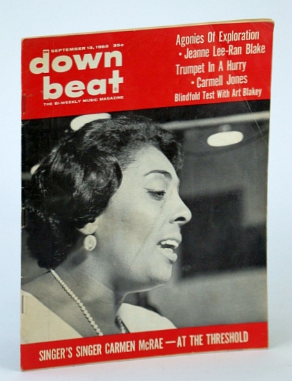 Image for Down Beat / Vol. 29, No. 24 / September 13, 1962