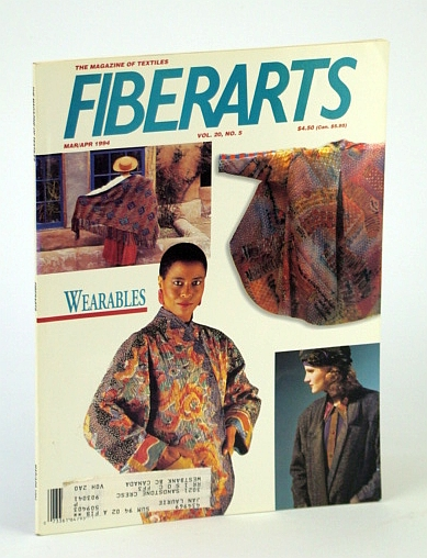 Image for Fiberarts: The Magazine of Textiles (Mar/Apr 1994, Vol. 20, No. 5)
