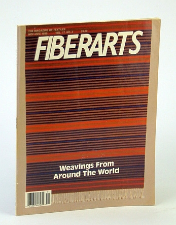Image for Fiberarts, The Magazine of Textiles : November December 1990 : Weavings from Around the World