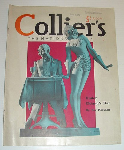Image for Colliers Magazine, March 6, 1937 - The National Weekly