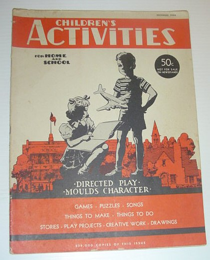 Image for Children's Activities for Home and School, December 1946
