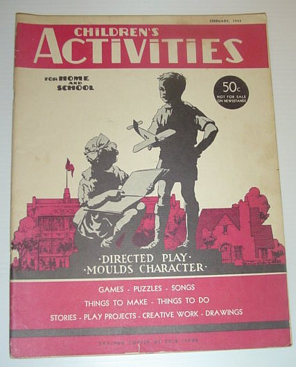 Image for Children's Activities for Home and School, February 1943