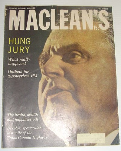 Image for Maclean's Magazine, July 28, 1962 - The Food Supplement Business